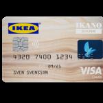 Die Kreditkarte aus dem Hause IKEA und der IKANO-Bank