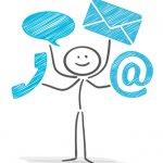 Kontaktdaten, E-Mail, Telefon