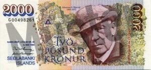 2.000 Isländische Kronen (Vorderseite)