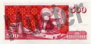 500 Isländische Kronen (Rückseite)