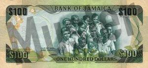 100 Jamaika-Dollar (Rückseite)