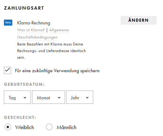 klarna rechnung bezahlen spotify premium mit lastschrift. Black Bedroom Furniture Sets. Home Design Ideas