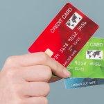 Kartennummer Kreditkarte Daten.