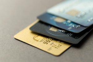 Kreditkarte wie Visa, Mastercard und Amex