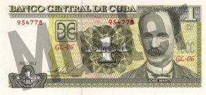 1 Peso (Vorderseite)