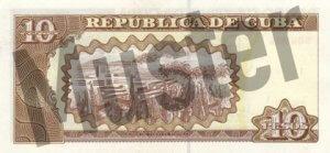 10 Peso (Rückseite)