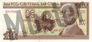 10 Peso (Vorderseite)