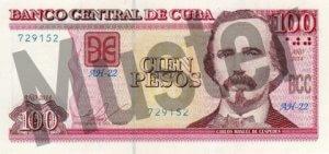100 Peso (Vorderseite)