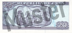 20 Peso (Rückseite)