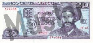 20 Peso (Vorderseite)