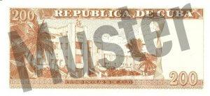 200 Peso (Rückseite)