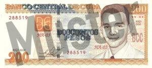 200 Peso (Vorderseite)
