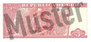 3 Peso (Rückseite)
