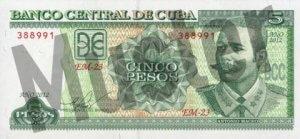5 Peso (Vorderseite)