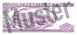 50 Peso (Rückseite)