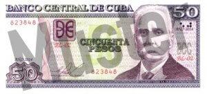 50 Peso (Vorderseite)