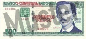500 Peso (Vorderseite)