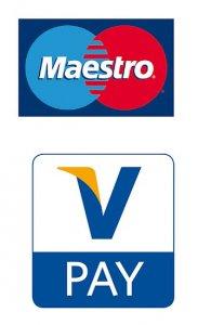 V pay oder maestro werden auf Girokarten genutzt