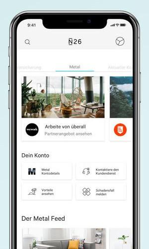Partner von N26 in der App