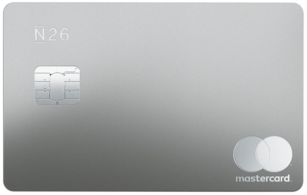 N26 Metal Kreditkarte