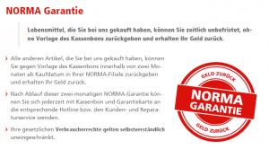NORMA Garantie: Das verspricht der Discounter