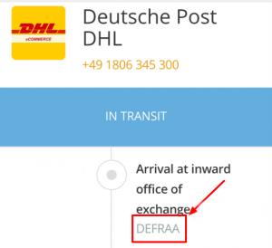 Nur Pakete von außerhalb Europas werden gecheckt.