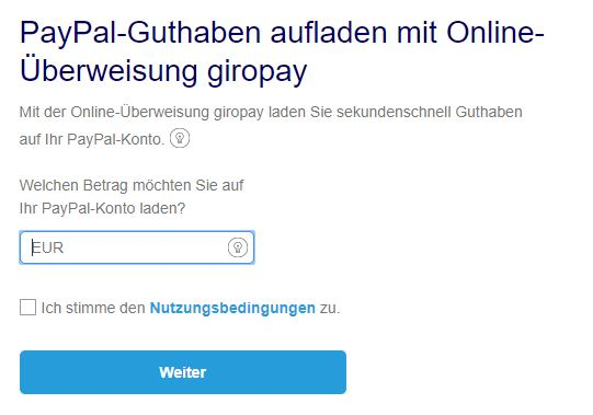 Paypal Direkt Vom Konto Abbuchen LaГџen
