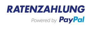 Das Logo von Ratenzahlung powered by Paypal