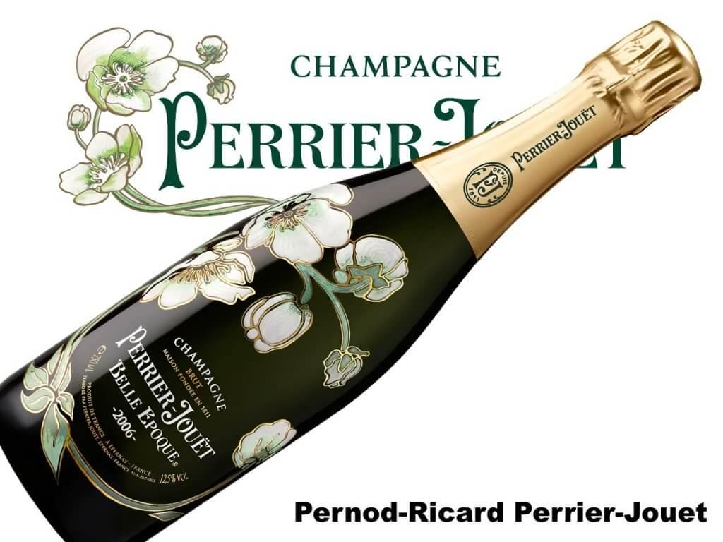Pernod-Ricard Perrier-Jouet Luxus Champagner