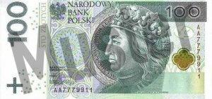 polen-pln-100-zloty-vorne