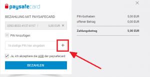 Paypal Mit Psc Aufladen