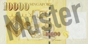 10000 Singapur-Dollar (Rückseite)