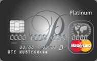 Platinum Kreditkarte der Sparkasse (Visa und Mastercard)