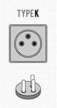 steckdosen in d nemark ratgeber zu netzstecker reiseadapter in d nemark. Black Bedroom Furniture Sets. Home Design Ideas