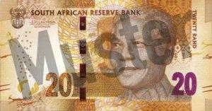 20 Südafrikanischer Rand (Vorderseite)