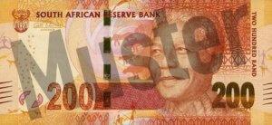 200 Südafrikanischer Rand (Vorderseite)