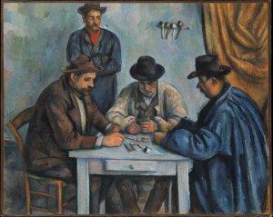 Die Kartenspieler (The Card Players). New Yorker Version, 1890–1892 [Quelle: Wikipedia.org | gemeinfrei]