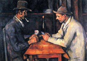 Die Kartenspieler (The Card Players). Version in Privatbesitz, 1892–1893 [Quelle: Wikipedia.org | gemeinfrei]