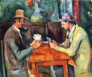 Die Kartenspieler (The Card Players). Londoner Version, 1892–1895 [Quelle: Wikipedia.org | gemeinfrei]