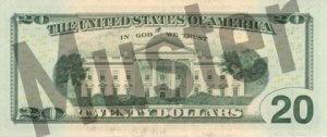20-USD-US-Dollar-Banknote-Geldschein-Rueckseite