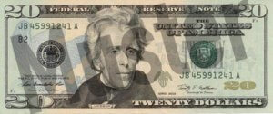 20-USD-US-Dollar-Banknote-Geldschein-Vorderseite