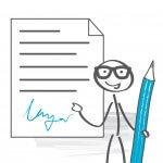 Vertrag & AGB: Der Eigentumsvorbehalt kann in den ABGs geregelt sein!