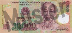 10.000 Dong (Vorderseite)