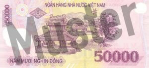 50.000 Dong (Rückseite)