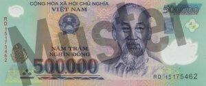 500.000 Dong (Vorderseite)